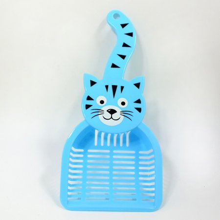 Dog Not Pooping - Cute Cartoon Plastic Litter Scoop Litter Boxes Cleaning Tool Poop Scoop Shovel for Pet Dog Cat Kitten Hamsters