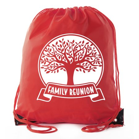 Family Reunion Gift Bags For Favors Drawstring Mato Hash