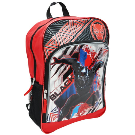 Boys Black Panther Superhero Backpack 16