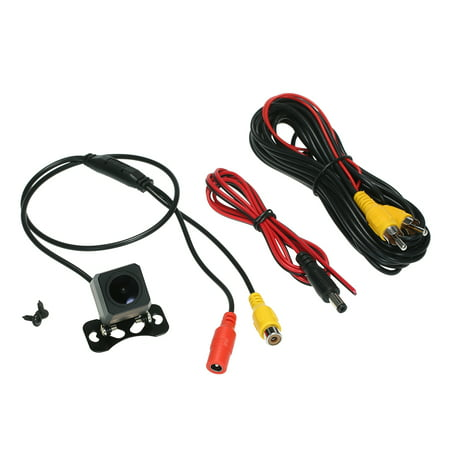 Night Vision Car Rear View Camera Waterproof Wide Angle Parking Reversing Assistance - image 6 de 7