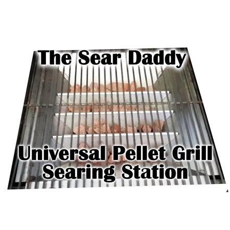 High heat grilling grates for BBQ Pellet Grills Searing station 100% Made in USA