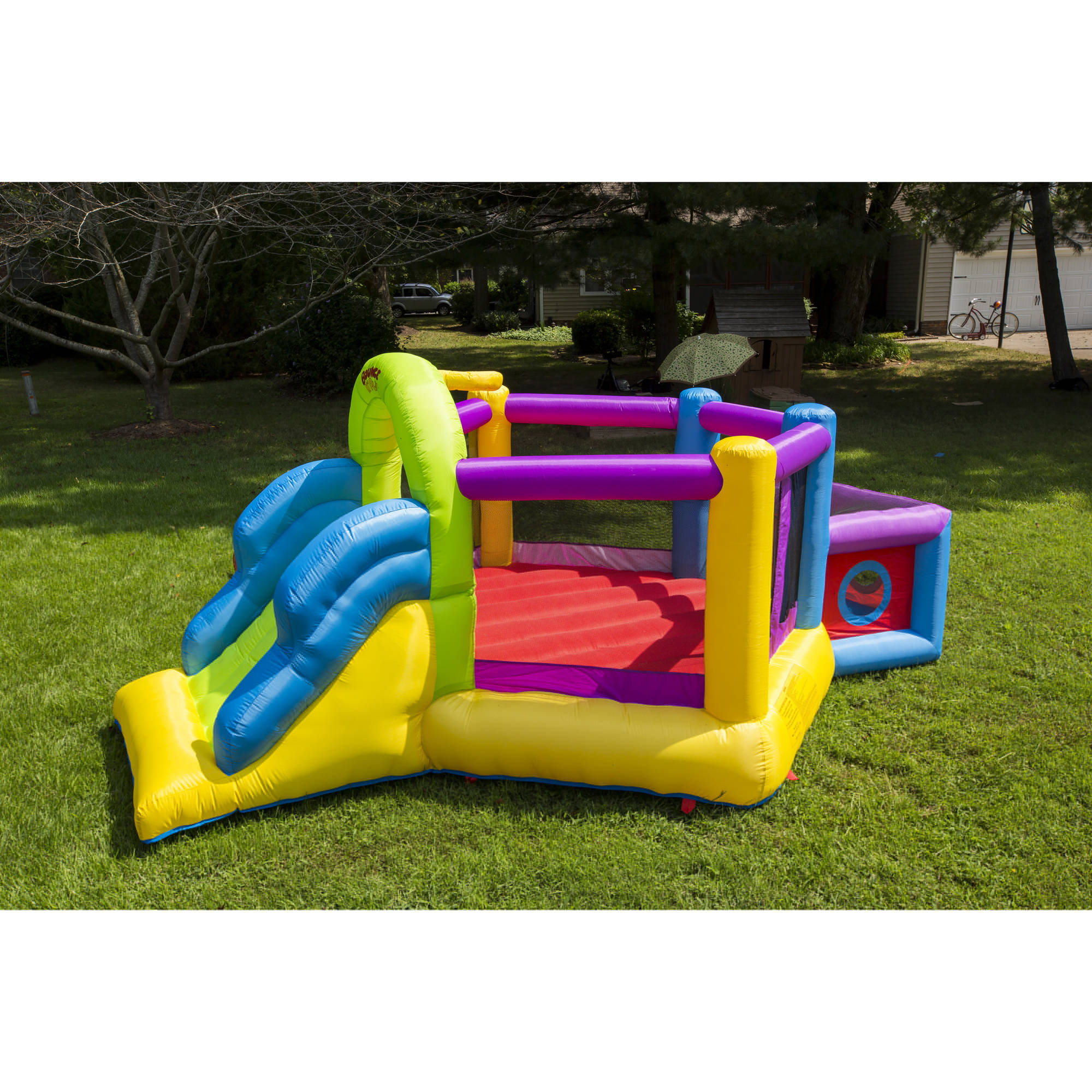 Bounce 'N' Play Super Fort Sport Bouncer