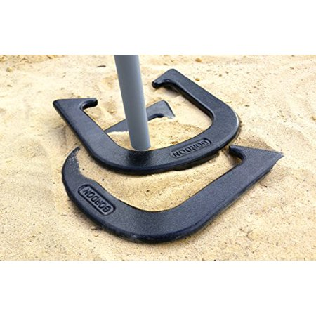 Gordon Professional Pitching Horseshoes - NHPA Sanctioned for Tournament Play - Drop Forged Construction - One Pair (2 Shoes) - Black Finish - Medium Weight - image 1 de 4