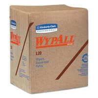 L20 Towels, 1/4 Fold, 2-Ply, Brown, Paper, 144/Carton