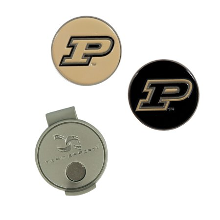 - Team Effort Purdue Boilermakers Golf Hat Clip & 2 Ball Markers