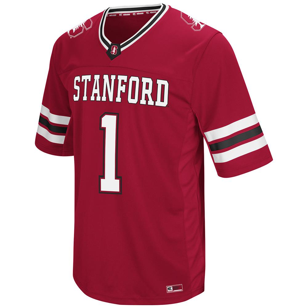 Mens NCAA Stanford Cardinal Hail Mary II Football Jersey