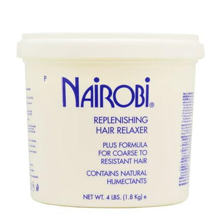 Nairobi  Replenishing 64-ounce Hair Relaxer Plus Formula for Coarse to Resistant Hair