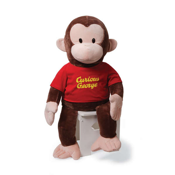 Gund Curious George by Rejects from Studios