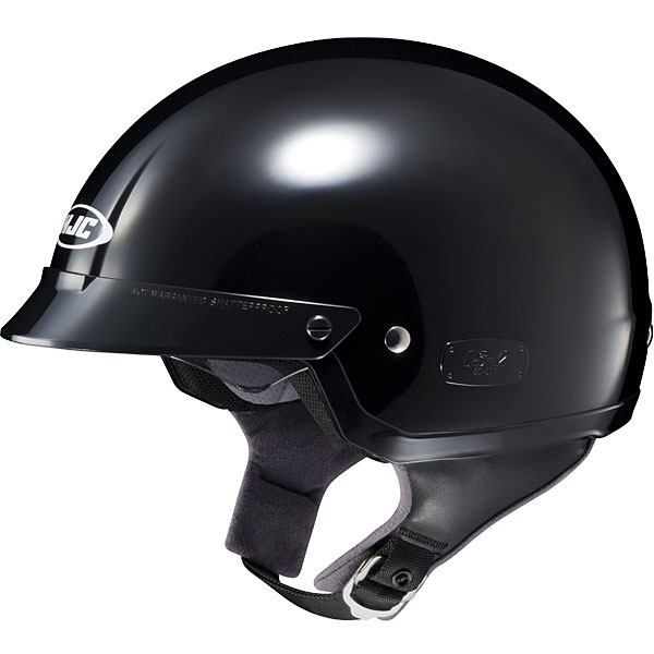 HJC IS-2 Solid Helmet Black