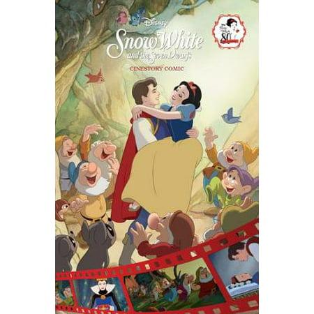 Disney Snow White and the Seven Dwarfs Cinestory Comic - Adult Snow White And The Seven Dwarfs