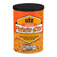 Utz Potato Stix, Barbecue, 14 oz Canister