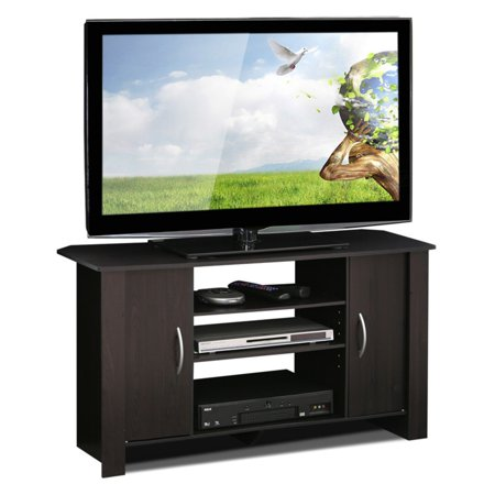Furinno Econ Espresso TV Stand Entertainment Center for TVs up to (Atlantic Entertainment Center)