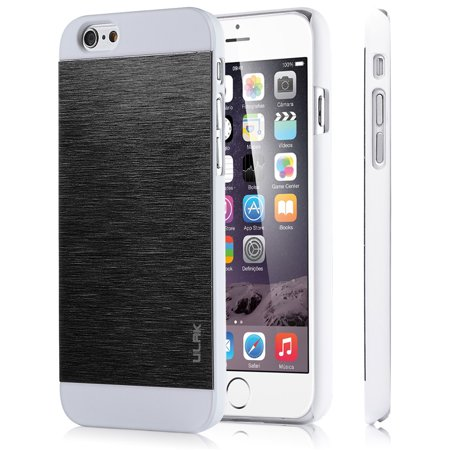 competitive price 93d9a 56e2d iPhone 6 Case, iPhone 6S Case, ULAK Hard PC and Brushed Steel Coated Slim  Protective Case Cover for Apple iPhone 6 / 6S 4.7 inch