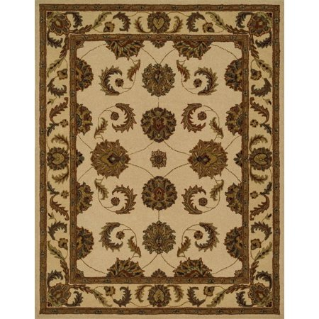 Loloi Traditional Maple Collection Area Rug In Ivory Cream And Oval Rectangle Round