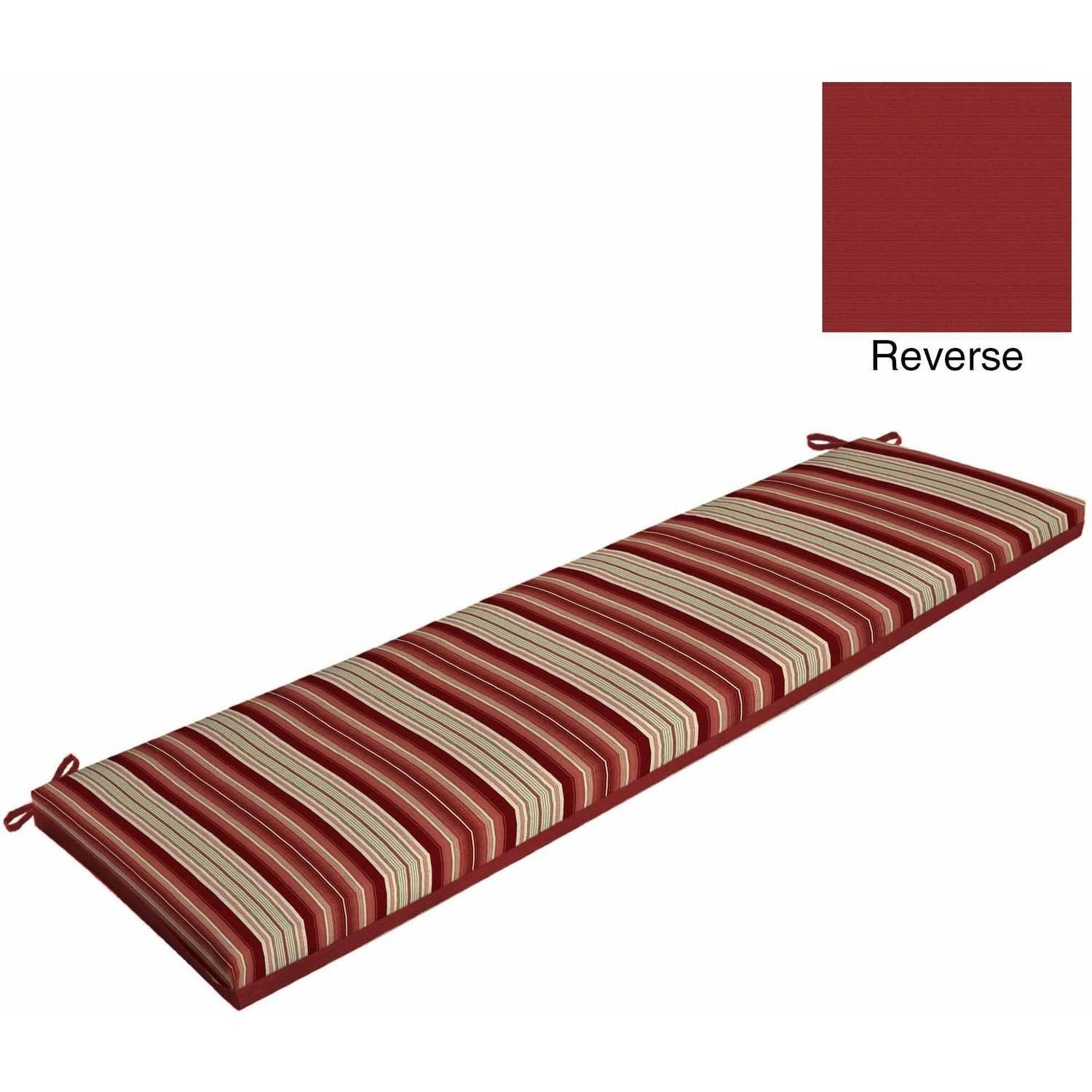 Better Homes And Gardens Outdoor Patio Reversible Bench Cushion