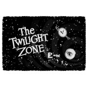 The Twilight Zone Another Dimension Woven Throw Tapestry 36X60 White One Size