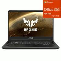 """ASUS TUF 17.3"""" Gaming Laptop AMD Ryzen 7 16GB RAM 512GB SSD  + Office 365 Bundle"""