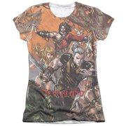Zenescope Neverland (Front Back Print) Juniors Sublimation Shirt