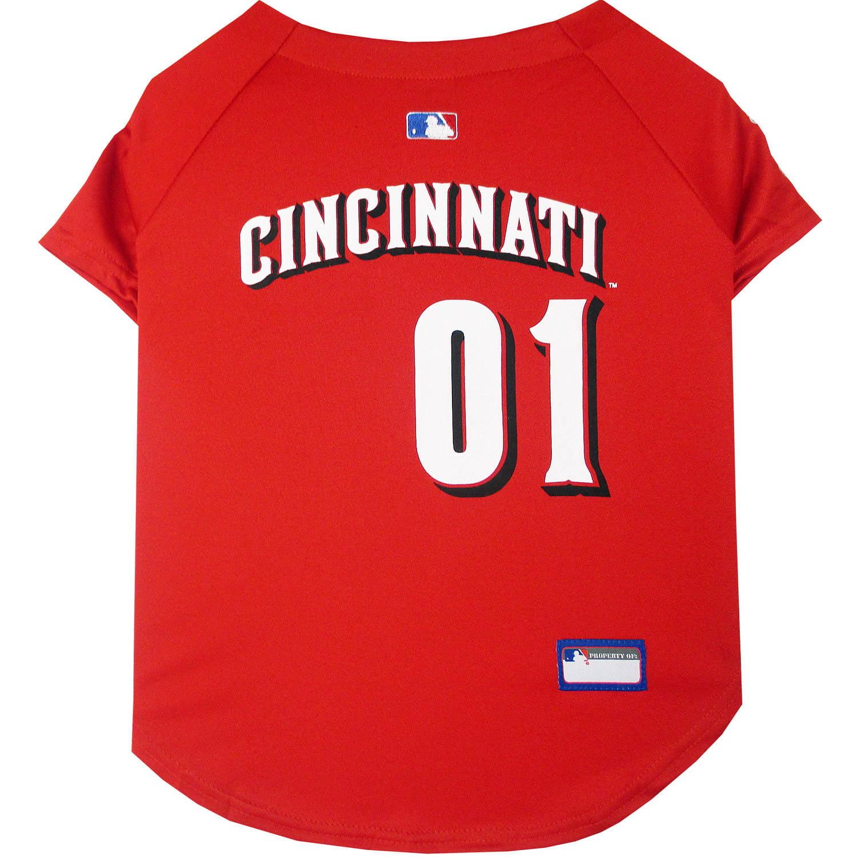 Pets First MLB Cincinnati Reds Pet Jersey