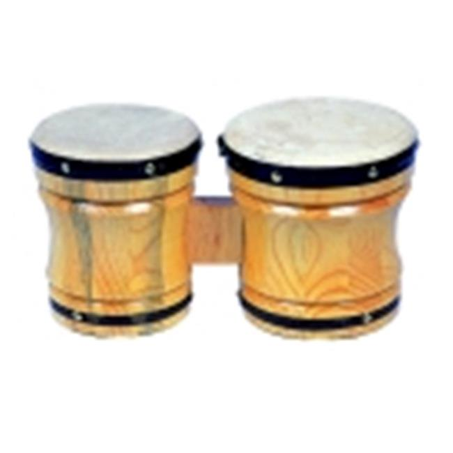 Rhythm Band Medium Bongo Drum Music Instrument by Rythm Band
