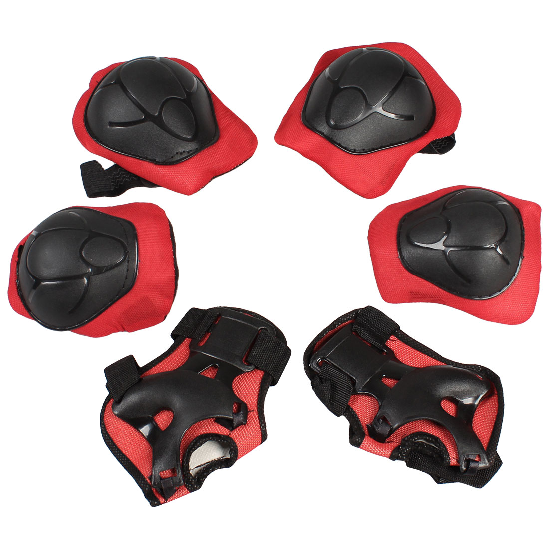 Roller Blading Skating Safety Protective Gear Combo Wrist Guard Elbow Knee Pads for Kids