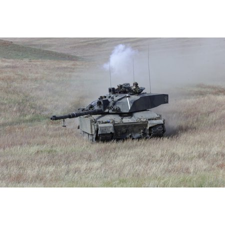 Rtr Art - LAMINATED POSTER Exercise Med Man, Batus training area, Canada. 2 RTR with Challenger 2. Organization: Army Object Na Poster Print 24 x 36