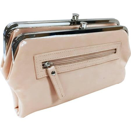 george womens double leg frame clutch - Double Frame Clutch Wallet