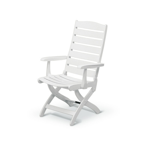 Kettler USA Caribic 16 Position Chair In White