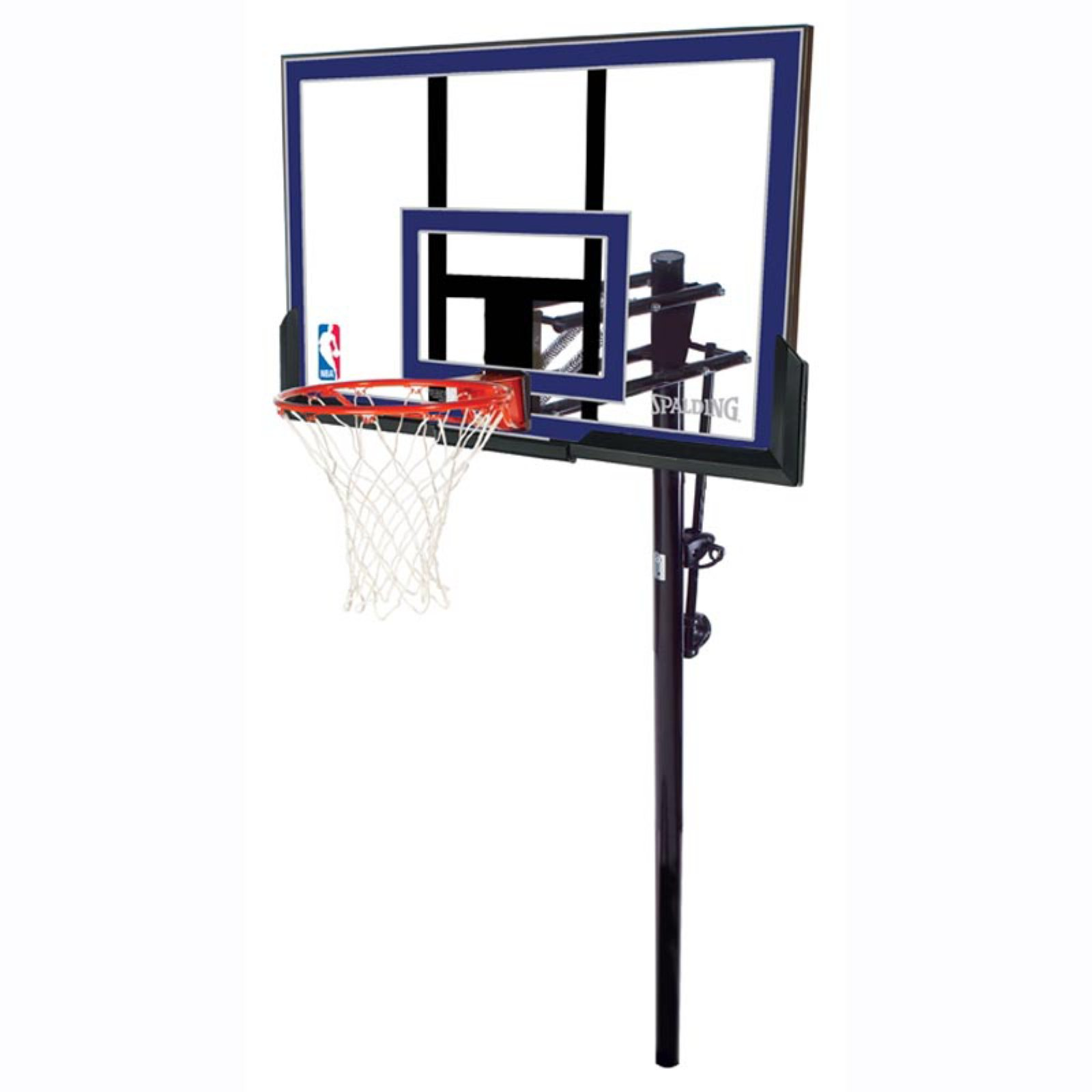 "Spalding NBA 50"" Acrylic Exactaheight In-Ground Hoop System"
