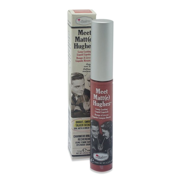 theBalm Meet Matte Hughes - Committed Lip Color 0.25 Oz