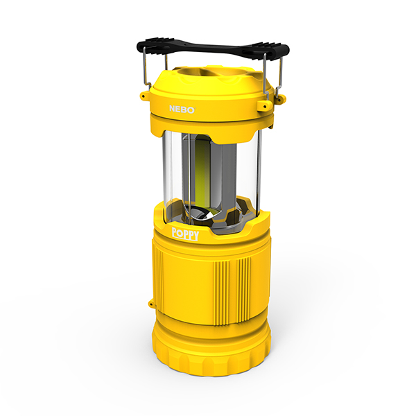 NEBO Tools - 6555 Poppy 300 Lumen LED Lantern and Spot Light, Yellow