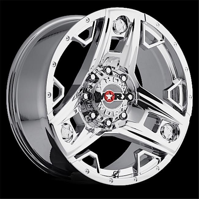 ULTRA 8018905V12 801 Series Triad Truck Wheel - 18 X 9 inch, Silver