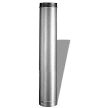 DuraVent 6DLR 48 Aluminized Steel 6 Inner Diameter