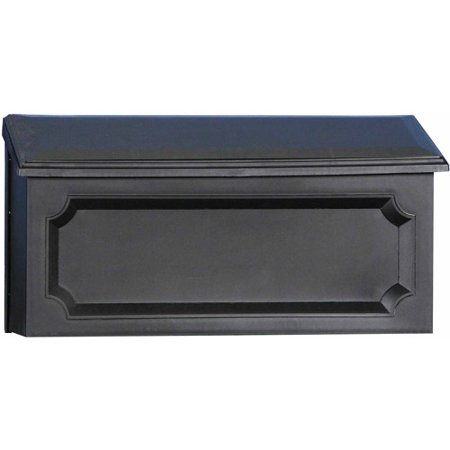 Solar Group Inc Wmh00b04 Black Windsor Horizontal Wall