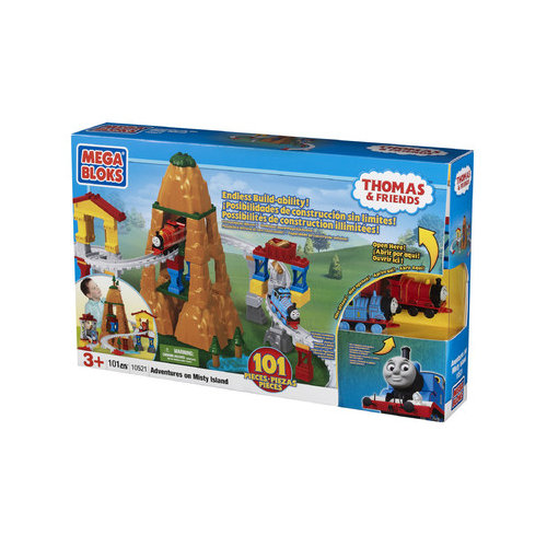 Mega Brands Mega Bloks Adventure on Misty Island