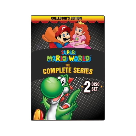 SUPER MARIO WORLD-COMPLETE SERIES (DVD) (DVD) (Best Anime Series In The World)