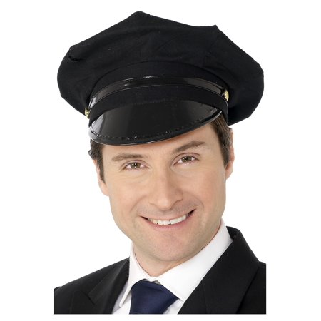 Adult Chauffeur Hat (Cheap Chauffeur Hats)