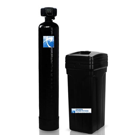Whole House Water Softener | 64,000 Grain, 12