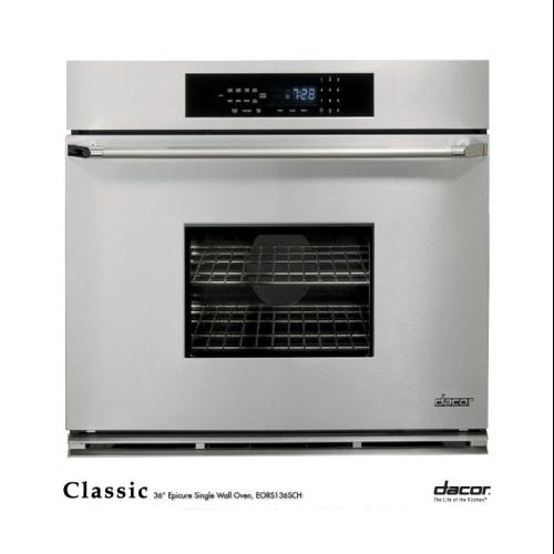 "36"" Epicure Single Wall Oven"