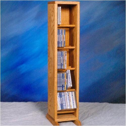 Wood Shed 500 Series 70 CD Dowel Multimedia Storage Rack