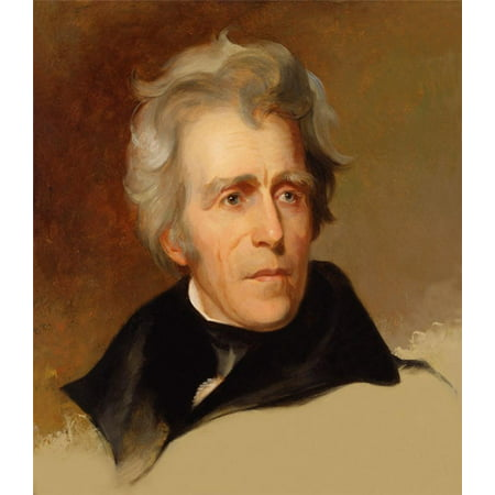 Framed Art for Your Wall Andrew Jackson President Tennessee United Usa 10 x 13 Frame
