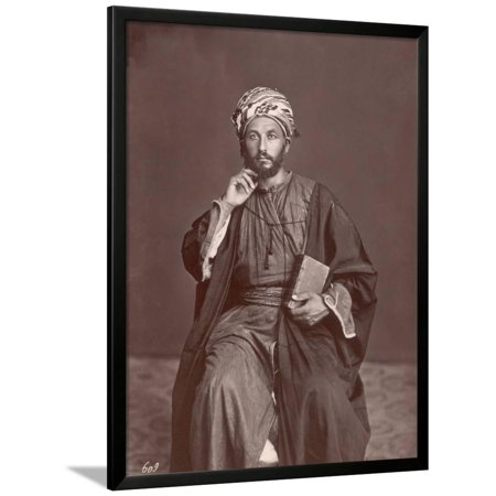 Middle Eastern Scholar Framed Print Wall -