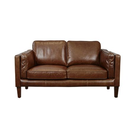 Incredible Union Rustic Shelli Leather Loveseat Brickseek Andrewgaddart Wooden Chair Designs For Living Room Andrewgaddartcom