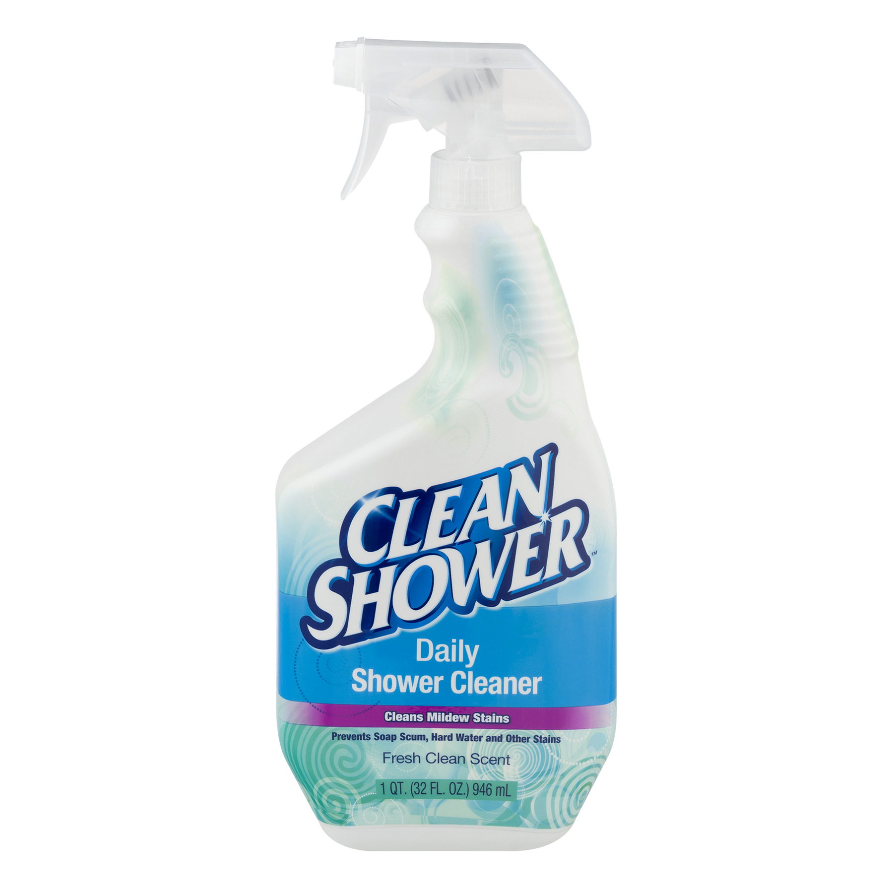 Beau Clean Shower Fresh Clean Scent Daily Shower Cleaner, 1 Qt