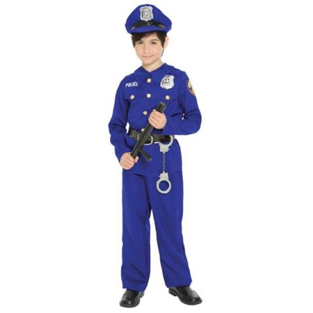 Police Officer Boys Medium