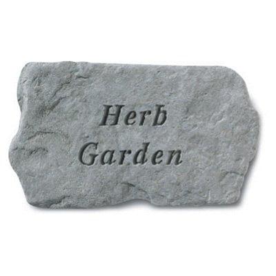Herb Garden Accent Stone