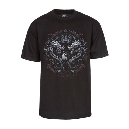 Mens Dragons and Tigers Short-Sleeve T-Shirt