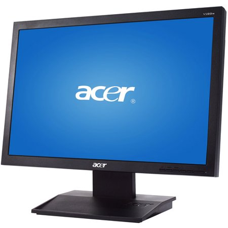 acer 19 lcd monitor black v epeat. Black Bedroom Furniture Sets. Home Design Ideas