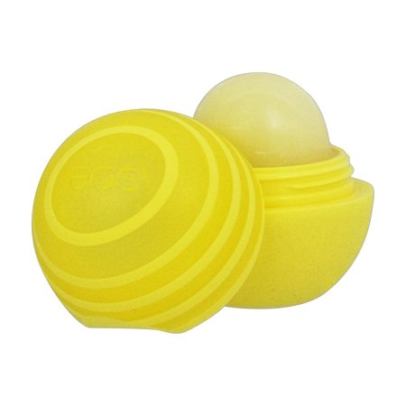 Eos Evolution of Smooth - Sunscreen Lip Balm Sphere Lemon Twist 15 SPF - 0.25 oz. (pack of 4)