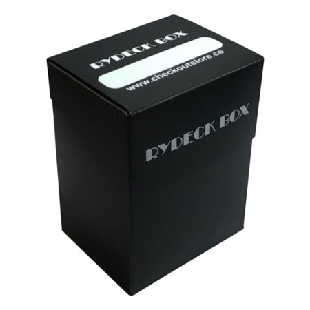CheckOutStore? 1 Rydeck Box 120 Trading Card Holder - Black
